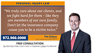 Why I Am a Personal Injury Lawyer