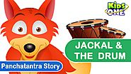 Panchatantra stories | Jackal & The Drum | Moral stories for Kids