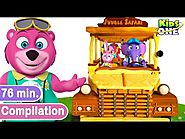 Wheels On The Bus and More Nursery Rhymes Compilation