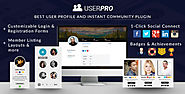 UserPro Plugin for WP membership sites - User Profiles with Social Login