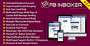 FB Inboxer - Master Facebook Messenger Marketing Software