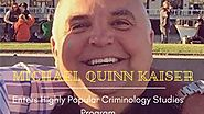 Michael Quinn Kaiser Enters Highly Popular Criminology Studies Program