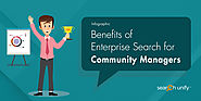 Benefits of Enterprise Search for Community Managers [INFOGRAPHIC]