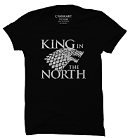 King In The North T-Shirt - Cyankart.com