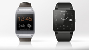 Samsung Galaxy Gear vs. Sony Smartwatch 2