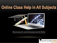 Online Bachelor Class Help The Students
