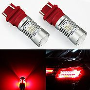 JDM ASTAR Extremely Bright PX Chipsets 3056 3156 3057 3157 LED Bulb For Brake Light Tail lights Turn Signal, Brillian...