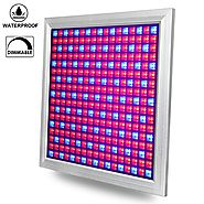 LED Grow Light, Venoya 150W Grow Light Equivalent for Hydroponics, Grow Lamp for Indoor Plants, Aluminum Waterproof D...