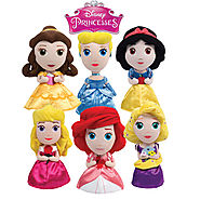 Disney Princess Plush Dolls Rapunzel Belle Cinderella Ariel Aurora Snow White