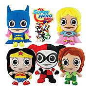 DC Superhero Girls Plush Toys