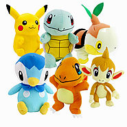 Charmander Pokemon Plush Toys Bulbasaur Chimchar Pikachu Piplup Squirtle Turtwig