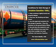 Aviation Gasoline - Safe Storage Tips