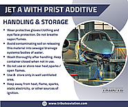 Jet A With Prist Additive — Handling & Storage