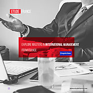Explore Masters In International Management from France