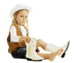 Toddler Girl Cowboy Boots