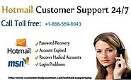 Hotmail Help Number - Hotmail Contact Number
