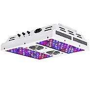 VIPARSPECTRA Dimmable Series PAR450 450W LED Grow Light - 3 Dimmers 12-Band Full Spectrum for Indoor Plants Veg/Bloom