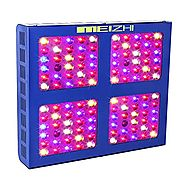 MEIZHI Reflector-Series 600W LED Grow Light Full Spectrum for Indoor Plants Veg and Flower - Dual Growth and Bloom Sw...