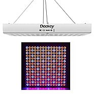 Deckey LED Grow Light Plant Grow Light Hanging Light Red Blue Plant Light