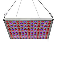Plant LED Grow Light Panel 45W, Lightimetunnel Reflector LED Plant Grow Lamp with Red Blue Bulbs Spectrum for Indoor ...