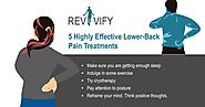 5 Highly Effective Lower-Back Pain Treatments