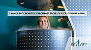 3 Benefits you can get from Local Cryotherapy in NJ