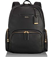 "Tumi Calais Leather 15"" Computer Backpack"