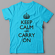 9. Keep calm and carry on