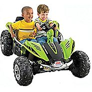 Fisher-Price Power Wheels Green Dune Racer