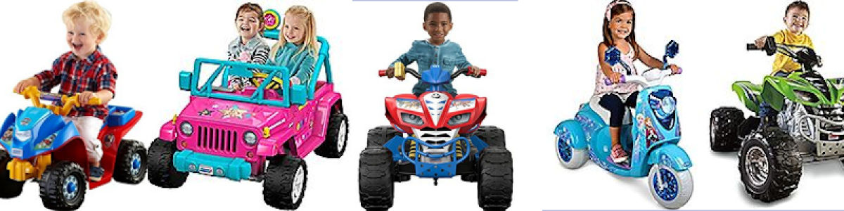 Headline for Power Wheels Ride On Toys