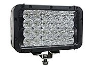Infrared LED Light Bar - 24 LEDs - 72 Watts - 900'L x 100'W Beam - Extreme Environment(-Spot-940nm-White)