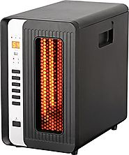 Optimus H-8013 Infrared Quartz Heater with Remote and LED Display