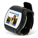 Super Cool Quad Band Watch Touch Screen Cell Phone Black