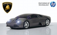 Road Mice Lamborghini Murcielago Wireless Mouse - Gray (HP-11LGMCGXA)