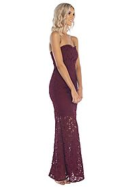 Buy Women's Strapless Dress in Australia