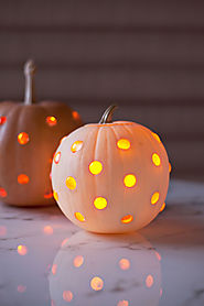 Glass Bead Jack-O-Lanterns