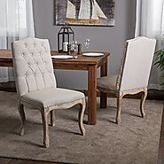 TOP 20 BEST TUFTED DINING CHAIR SET SALE REVIEWS