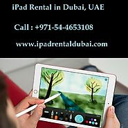 iPad Rental for Conferences in Dubai