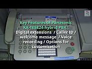 Features of Panasonic pabx telephone systems