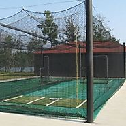 Polyethylene Batting Cage Net