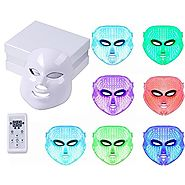 Angel Kiss LED Photon Therapy 7 Color Light Treatment Skin Rejuvenation Whitening Facial Beauty Daily Skin Care Mask ...