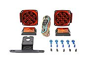 MaxxHaul 70205 12V LED Trailer Light Kit