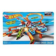Hot Wheels Criss Cross Track Set
