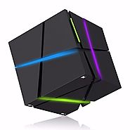 Bluetooth Speaker, ELEGIANT Portable LED Lighting Speaker Stereo Magic Cube Mini Wireless Bluetooth 4.0 Speaker with ...