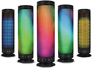 Kocaso Standing Portable Bluetooth LED Rainbow Dancing Speaker (Hands-Free Calling, Built in Mic, Powerful Sound, Blu...