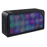 Bluetooth Speakers,URPOWER Hi-Fi Portable Wireless Stereo Speaker with 7 LED Visual Modes and Build-in Microphone Sup...