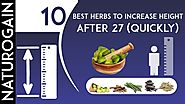 10 Best Herbs to Increase Height after 27 QUICKLY