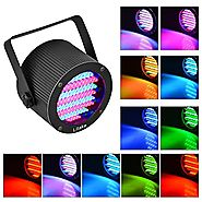 Litake Stage Lights 86 LED RGB Party Lights, DMX-512 Stage Lighting Projector Par Lights for Party Disco Show Pub KTV...