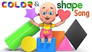 Learn Shapes and Colors for Kids | Learn Colors and Shapes for Kids - Nursery Rhymes by Titli Kids