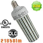 NUOGUAN 160W LED High Bay Retrofit Warehouse Garage Gym Corn Light Bulb 5700K Replaces 750W MH, 21858lm Mogul Base E3...
